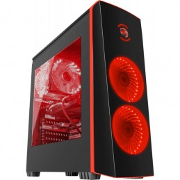 Unitate PC Full Gaming AMD Octa-Core FX 8350 Genesis Titan 700 Red